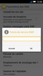 Alcatel POP C7 (OT-7041X) - SMS - configuration manuelle - Étape 8