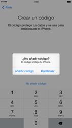 Apple iPhone 6 Plus iOS 8 - Primeros pasos - Activar el equipo - Paso 20