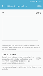 Samsung Galaxy S6 Android M - Internet no telemóvel - Como ativar os dados móveis -  5