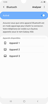Samsung Galaxy A50 - Bluetooth - connexion Bluetooth - Étape 9