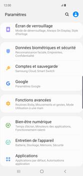 Samsung Galaxy S10 - Données - créer une sauvegarde avec votre compte - Étape 4