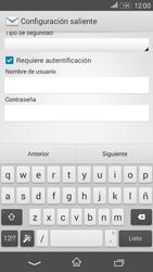 Sony Xperia E4g - E-mail - Configurar correo electrónico - Paso 14