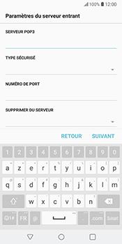 LG V30 - E-mail - Configuration manuelle - Étape 12