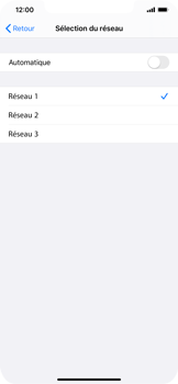 Apple iPhone 11 Pro Max - Réseau - utilisation à l'étranger - Étape 10