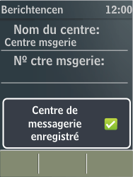 Nokia X3-02 - SMS - configuration manuelle - Étape 8