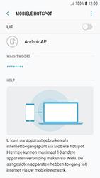 Samsung Galaxy J5 (2017) (SM-J530F) - WiFi - Mobiele hotspot instellen - Stap 8