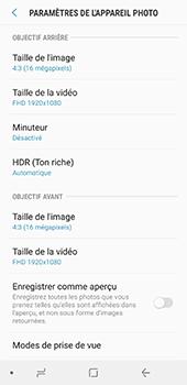 Samsung Galaxy A8 - Photos, vidéos, musique - Créer une vidéo - Étape 10