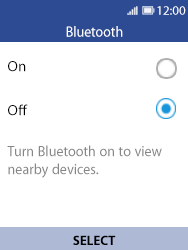 Nokia 8110 Banana - Bluetooth - Pair with another device - Step 5