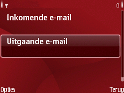 Nokia E63 - E-mail - Handmatig instellen - Stap 22