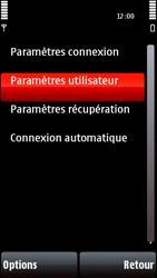 Nokia 5800 Xpress Music - E-mail - Configuration manuelle - Étape 27