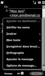 Samsung B7610 Omnia Qwerty - E-mail - envoyer un e-mail - Étape 9