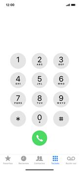 Apple iPhone X - Mensajería - Configurar el equipo para mensajes de texto - Paso 3