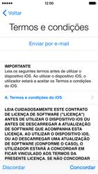 Apple iPhone 5s iOS 8 - Primeiros passos - Como ligar o telemóvel pela primeira vez -  16