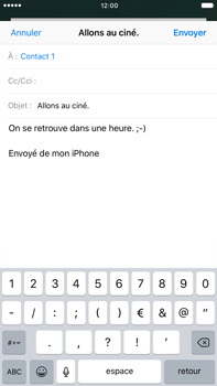 Apple Apple iPhone 6 Plus iOS 10 - E-mail - envoyer un e-mail - Étape 7