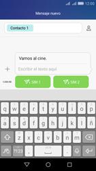 Huawei Huawei Y6 - Mensajería - Escribir y enviar un mensaje multimedia - Paso 11
