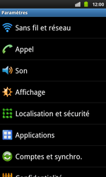 Samsung I9001 Galaxy S Plus - Messagerie vocale - configuration manuelle - Étape 5
