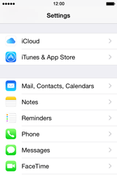 Apple iPhone 4s iOS 8 - Email - Manual configuration - Step 3