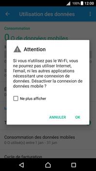 Sony Xperia Z5 Premium - Android Nougat - Internet - activer ou désactiver - Étape 6
