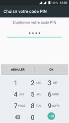 Crosscall Trekker M1 Core - Sécuriser votre mobile - Activer le code de verrouillage - Étape 10