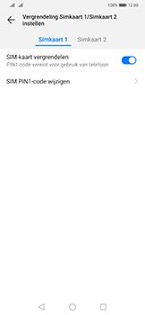 Huawei Mate 20 Pro - Beveiliging - pas de pincode voor je simkaart aan - Stap 8