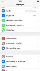 Apple iPhone 6s - Internet et connexion - Partager votre connexion en Wi-Fi - Étape 3