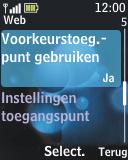 Nokia 2690 - Internet - Handmatig instellen - Stap 10