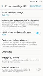 Samsung Galaxy A5 (2017) (A520) - Sécuriser votre mobile - Activer le code de verrouillage - Étape 13