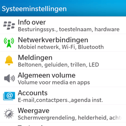 BlackBerry Q5 - E-mail - Account instellen (POP3 met SMTP-verificatie) - Stap 4