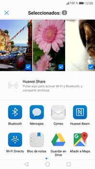 Huawei Mate 9 - Bluetooth - Transferir archivos a través de Bluetooth - Paso 8