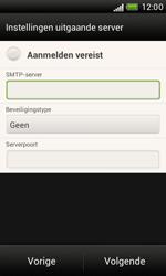 HTC T328e Desire X - E-mail - Handmatig instellen - Stap 13