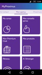 Sony Xperia M5 - Applications - MyProximus - Étape 15
