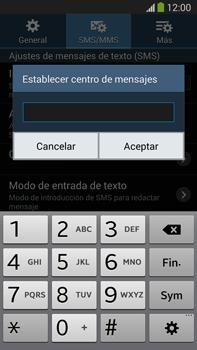 Samsung Galaxy Note 3 - Mensajería - Configurar el equipo para mensajes de texto - Paso 8