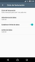 Sony Xperia XA1 - Internet - Ver uso de datos - Paso 10