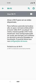 Motorola One Vision - Wi-Fi - Como configurar uma rede wi fi - Etapa 6