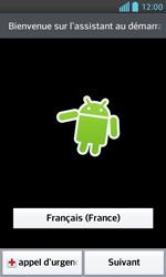 LG Optimus L5 II - Premiers pas - Créer un compte - Étape 2