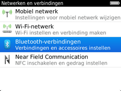 BlackBerry 9790 Bold - Bluetooth - Headset, carkit verbinding - Stap 5