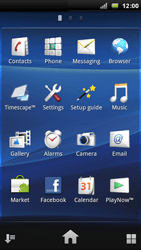 Sony Ericsson Xperia Arc - Internet - Enable or disable - Step 3