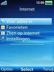 Sony Ericsson W100i Spiro - Internet - Hoe te internetten - Stap 3