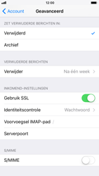 Apple iPhone 6 - iOS 11 - E-mail - Handmatig instellen - Stap 25