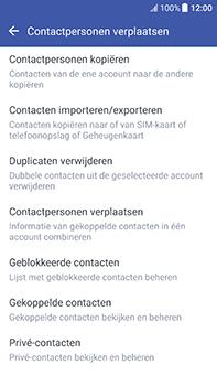 HTC U11 (2PZC100) - Contacten en data - Contacten kopiëren van toestel naar SIM - Stap 6