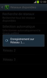 Samsung S7560 Galaxy Trend - Réseau - Utilisation à l