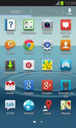 Samsung I8190 Galaxy S III Mini - Rede móvel - Como ativar e desativar o modo avião no seu aparelho - Etapa 3
