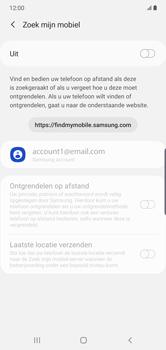 Samsung galaxy-note-10-plus-single-sim-sm-n975f - Beveiliging en ouderlijk toezicht - Zoek mijn mobiel inschakelen - Stap 6