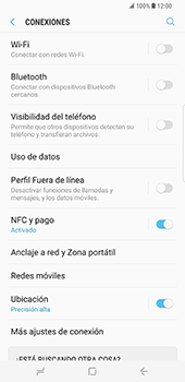 Samsung Galaxy S8 Plus - Funciones básicas - Activar o desactivar el modo avión - Paso 5