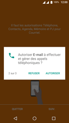 Wiko U-Feel Lite - E-mail - Configuration manuelle (outlook) - Étape 6