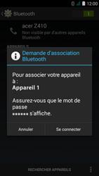 Acer Liquid Z410 - WiFi et Bluetooth - Jumeler votre téléphone avec un accessoire bluetooth - Étape 7