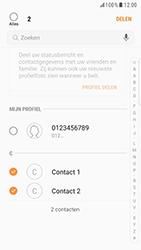 Samsung Galaxy S6 Edge - Android Nougat - Contacten en data - Contacten overzetten via Bluetooth - Stap 7