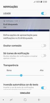 Samsung Galaxy S8 - Android Oreo - Segurança - Como ativar o código de bloqueio do ecrã -  11