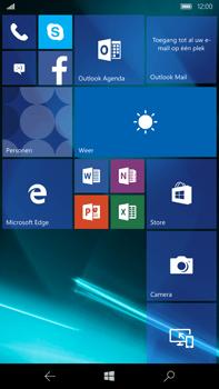Microsoft Lumia 950 XL - Internet - automatisch instellen - Stap 1