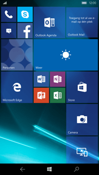 Microsoft Lumia 950 XL - Internet - aan- of uitzetten - Stap 1